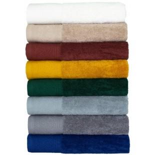 Krémový bavlnený jednofarebný ručník