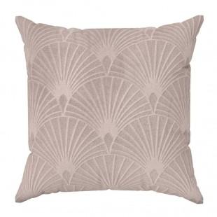 Obliečka na vankúš s geometrickým vzorom v ružovej farbe