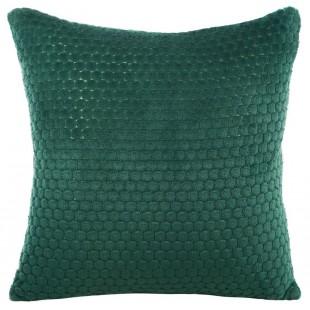 Obliečka na vankúš plyšová v zelenej farbe