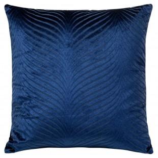 Obliečka na vankúš modrá s decentným vzorom