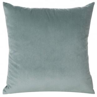 Obliečka na vankúš modrá jednofarebná zo zamatu