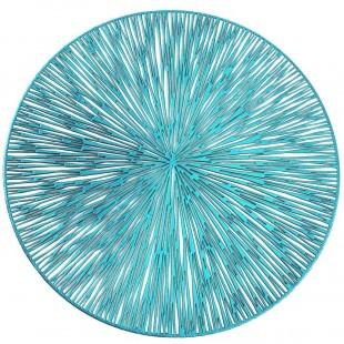 Prestieranie na stôl v tyrkysovej farbe