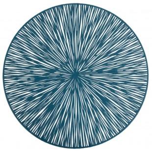Prestieranie na stôl v modrej farbe