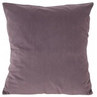 Obliečka na vankúš zamatová vo fialovej farbe