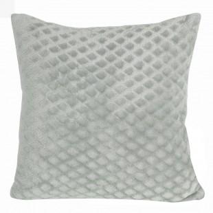 Obliečka na vankúš svetlosivá s geometrickým vzorom