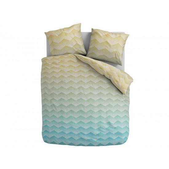 Cik-cak farebné posteľné obliečky