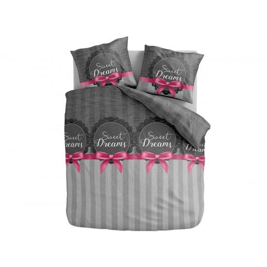SLADKÉ SNY sivé elegantné posteľné obliečky