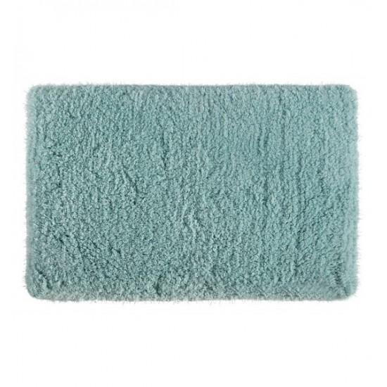 Mentolový jednofarebný kúpeľňový koberček