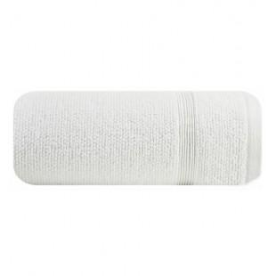 Jednofarebná biela bavlnená osuška