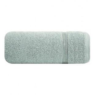 Svetlo mentolová jednofarebná bavlnená osuška