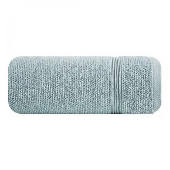 Modrá jednofarebná bavlnená osuška