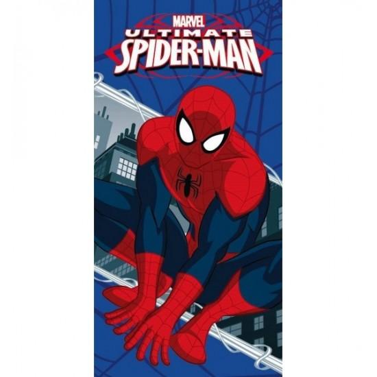 Modro červená detská osuška Spiderman