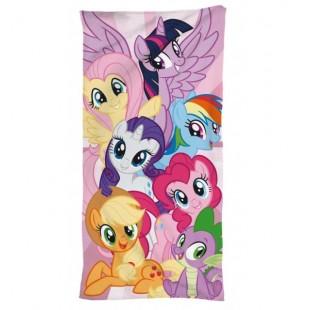 Fialovo ružová detská osuška My little Pony