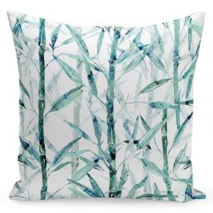 Obliečka na vankúš s motívom bambusového lesa