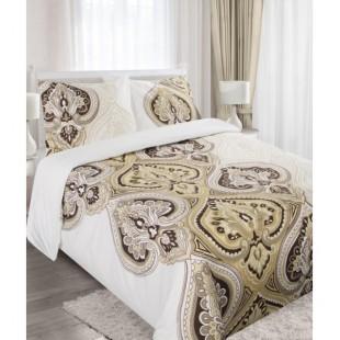 Béžovo hnedá posteľná obliečka s arabským motívom