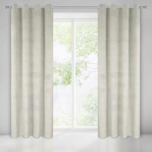 Žakárový svetlo béžový záves na okno